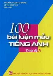 100 bài luận mẫu tiếng Anh - trình độ A