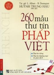 260 mẫu thư tín Pháp Việt - L. Albert & B. Desmarais
