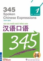 345 Câu khẩu ngữ tiếng Hán tập 1 (không dịch) (kèm CD)