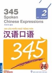 345 Câu khẩu ngữ tiếng Hán tập 2 (không dịch) (kèm CD)