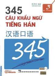 345 Câu khẩu ngữ tiếng Hán tập 3 (kèm CD)