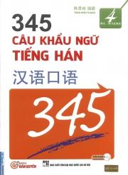 345 Câu khẩu ngữ tiếng Hán tập 4 (kèm CD)
