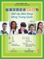 360 câu đàm thoại tiếng Trung Quốc - Tập 1 (kèm DVD)
