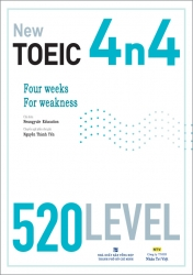 4n4 New TOEIC - 520 Level (kèm CD)