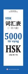 5000 từ vựng HSK (cấp độ 1 - 6)