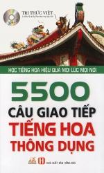 5500 câu giao tiếp tiếng Hoa thông dụng (kèm CD)