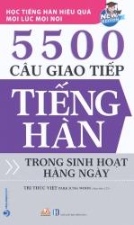 5500 câu giao tiếp tiếng Hàn trong sinh hoạt hàng ngày