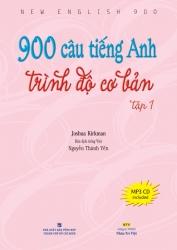 900 câu tiếng Anh trình độ cơ bản: Tập 1 (kèm CD)
