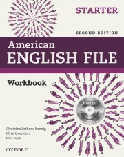 American English File Starter - Second edition - Workbook