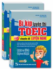 Bí kíp luyện thi TOEIC - chuyên đề LUYỆN NGHE - part 2 (kèm CD)