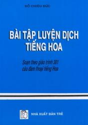 Bài tập luyện dịch tiếng Hoa