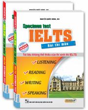 Bài thi mẫu IELTS Specimen test