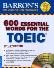 Barron's 600 Essential words for the TOEIC test - 4th edition