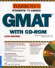 Barron's GMAT - 14th edition