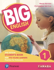 Big English 1 - 2nd Edition - Student's Book with PTE Young Learners