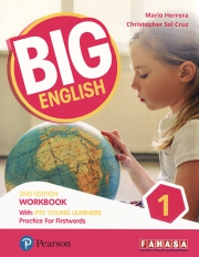 Big English 1 - 2nd Edition - Workbook with PTE Young Learners