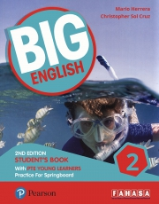 Big English 2 - 2nd Edition - Student's Book with PTE Young Learners