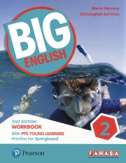 Big English 2 - 2nd Edition - Workbook with PTE Young Learners