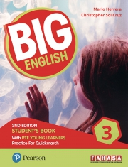 Big English 3 - 2nd Edition - Student's Book with PTE Young Learners
