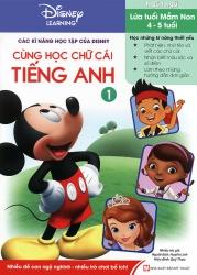 Các kĩ năng học tập của Disney - Cùng học chữ cái tiếng Anh tập 1