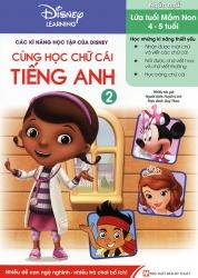 Các kĩ năng học tập của Disney - Cùng học chữ cái tiếng Anh tập 2