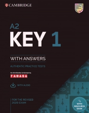 Cambridge A2 Key English Test (KET) 1 - For the revised 2020 exam (kèm code online)