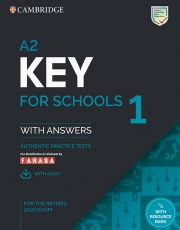 Cambridge A2 Key for Schools 1 - For the revised 2020 exam (kèm code online)