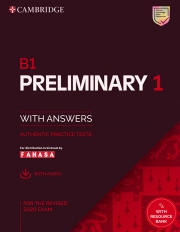 Cambridge B1 Preliminary English Test (PET) 1 - For the revised 2020 exam (kèm code online)