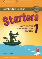 Cambridge English - Starters 1 (For revised exam from 2018)