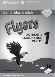 Cambridge English - Flyers 1 - Answer Booklet (For revised exam from 2018)