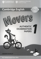 Cambridge English - Movers 1 - Answer Booklet (For revised exam from 2018)