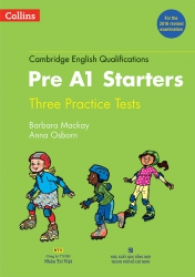 Cambridge English Qualifications – Pre A1 Starters (For the 2018 revised examination) (kèm CD)