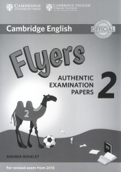 Cambridge English - Flyers 2 - Answer Booklet (For revised exam from 2018)