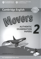 Cambridge English - Movers 2 - Answer Booklet (For revised exam from 2018)