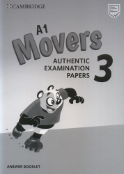 Cambridge English - Movers 3 - Answer Booklet (For revised exam from 2018)