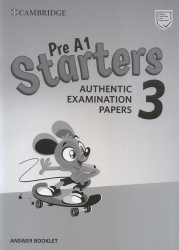 Cambridge English - Starters 3 - Answer Booklet (For revised exam from 2018)
