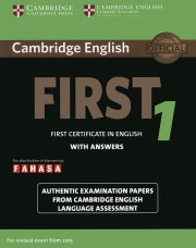 Cambridge First Certificate in English (FCE) 1