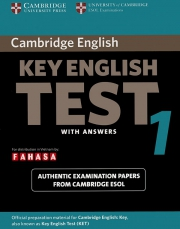 Cambridge Key English Test (KET) 1