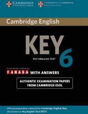 Cambridge Key English Test (KET) 6