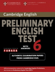 Cambridge Preliminary English Test (PET) 6
