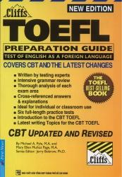 Cliffs - TOEFL Preparation Guide