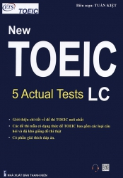 ETS New TOEIC - 5 Actual Tests LC 2019 format