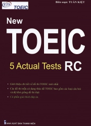 ETS New TOEIC - 5 Actual Tests RC 2019 format