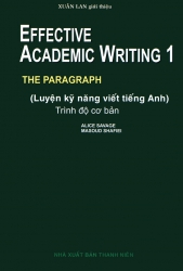 Effective Academic Writing 1 - Alice Savage & Masoud Shafiei