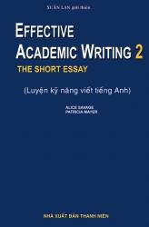 Effective Academic Writing 2 - Alice Savage & Patricia Mayer