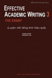 Effective Academic Writing 3 - Jason Davis & Rhonda Liss
