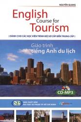 English Course for Tourism - Giáo trình tiếng Anh du lịch (kèm CD)