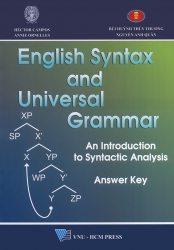English Syntax and Universal Grammar - Answer key