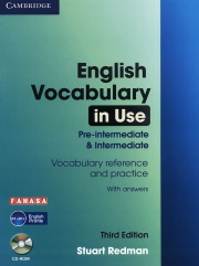 English Vocabulary in use - 3rd edition - Pre-Intermediate & Intermediate (kèm CD)