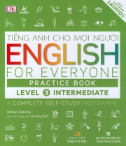 English for Everyone – Level 3 Intermediate – Practice Book (kèm CD)